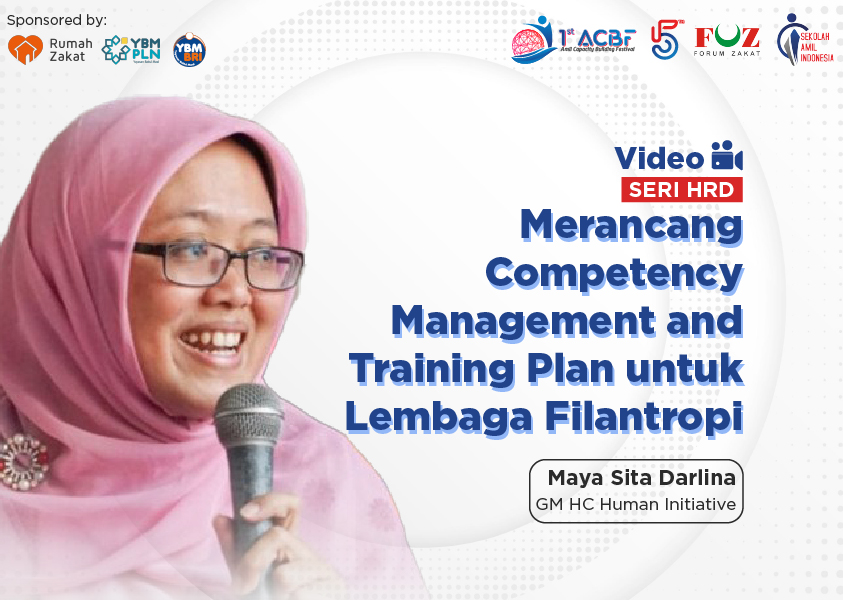 Webinar Seri HRD: Merancang Competency Management and Training Plan untuk Lembaga Filantropi