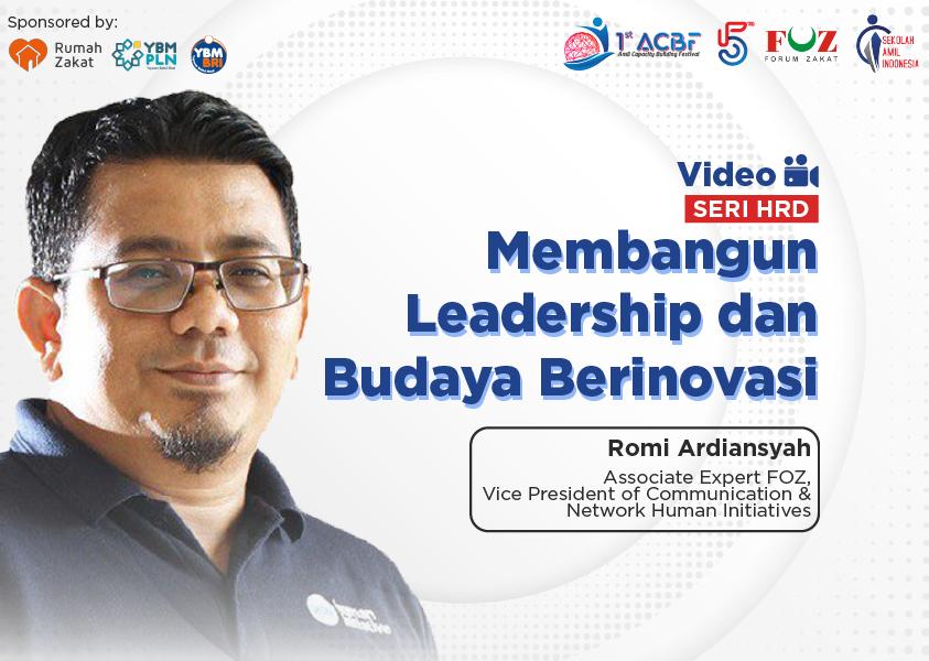 Webinar Seri HRD: Membangun Leadership dan Budaya Berinovasi